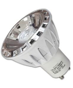 7W LED COB lemputė 220V GU10  (3000K)