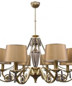 Aštuonių lempų šviestuvas MONZA