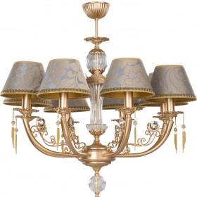 Aštuonių lempų šviestuvas RICCO