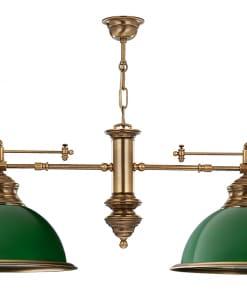 Dviejų lempų lubinis šviestuvas LIDO