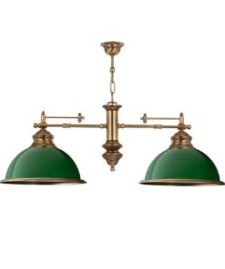 Dviejų lempų lubinis šviestuvas KUTEK LIDO