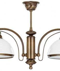 Dvieju lempų lubinis šviestuvas OBD