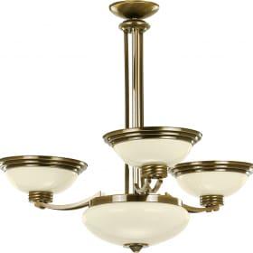 Keturių lempų lubinis šviestuvas FORUM