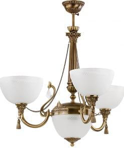 Lubinis šviestuvas su keturiomis lempomis ROMA