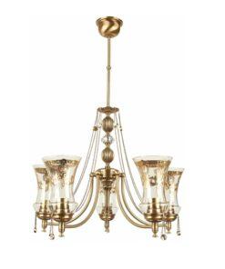 Penkių lempų lubinis šviestuvas NICO