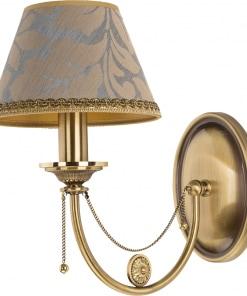 Sieninis šviestuvas su tekstilės gaubteliu DORATO