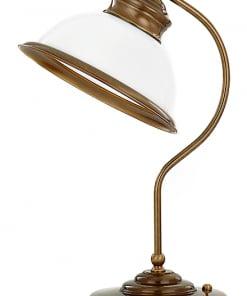 Stalo šviestuvas su stiklo gaubteliu LIDO
