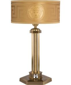 Stalo šviestuvas su tekstilės gaubtu KUTEK DECOR