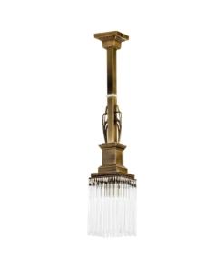 Vienos lempos lubinis šviestuvas CARINO