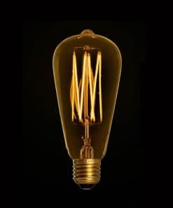 2.5W Dimeriuojama LED lemputė EDISON GOLD