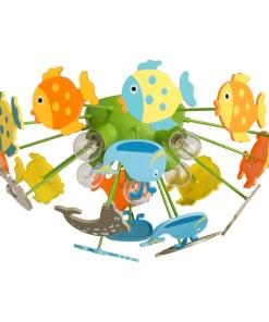 Lubinis vaikiškas šviestuvas MW-LIGHT Kinder su spalvotomis žuvytėmis
