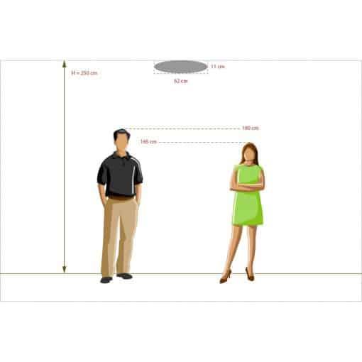 Lubinis šviestuvas MW-LIGHT Kinder 3650157012