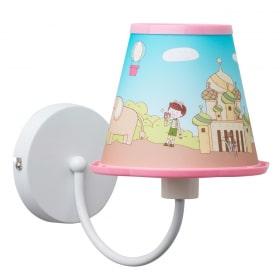 Vaikiškas sieninis šviestuvas MW-LIGHT Kinder su piešiniu