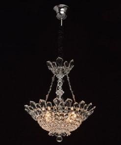 Pakabinamas šviestuvas CHIARO Crystal 4470103061