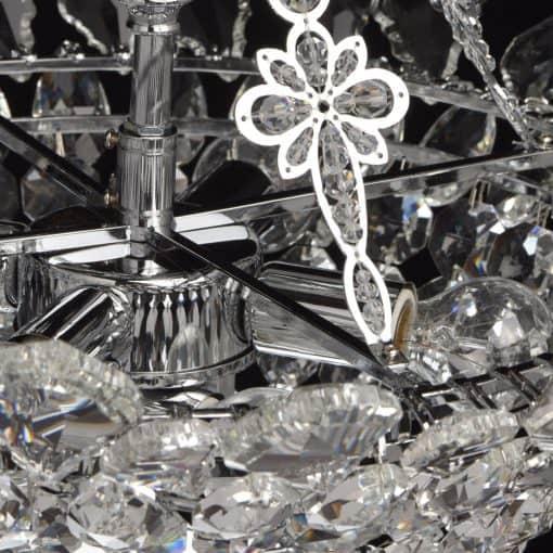 Pakabinamas šviestuvas CHIARO Crystal 4470103065