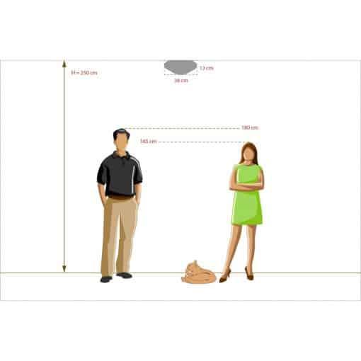 Lubinis šviestuvas MW-LIGHT Classic 4500155039