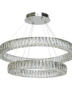 Pakabinamas šviestuvas CHIARO Crystal 498012202
