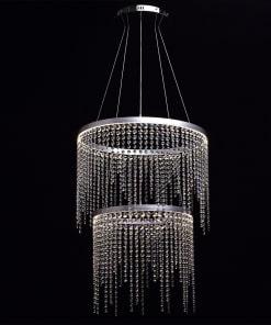 Pakabinamas šviestuvas RegenBogen Crystal 617010302