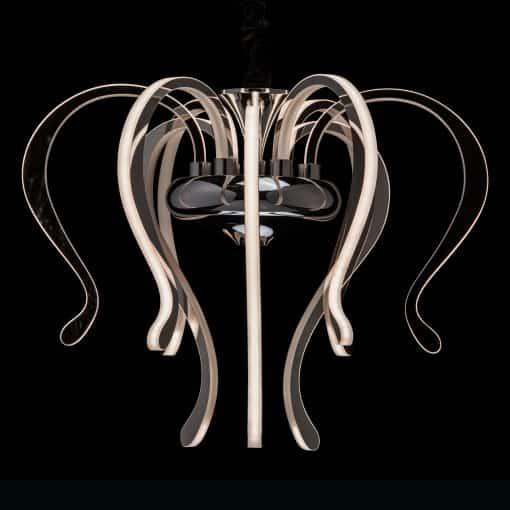 Pakabinamas šviestuvas RegenBogen Megapolis 6610152091