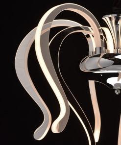 Pakabinamas šviestuvas RegenBogen Megapolis 6610152097