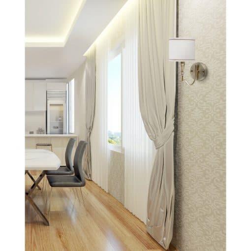 Sieninis šviestuvas MW-LIGHT Elegance 6670212018