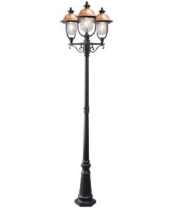 Pastatomas šviestuvas MW-LIGHT Street DUBAI LARGE