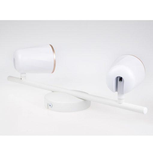 12W modernus LED šviestuvas su dvejomis lempomis V-TAC