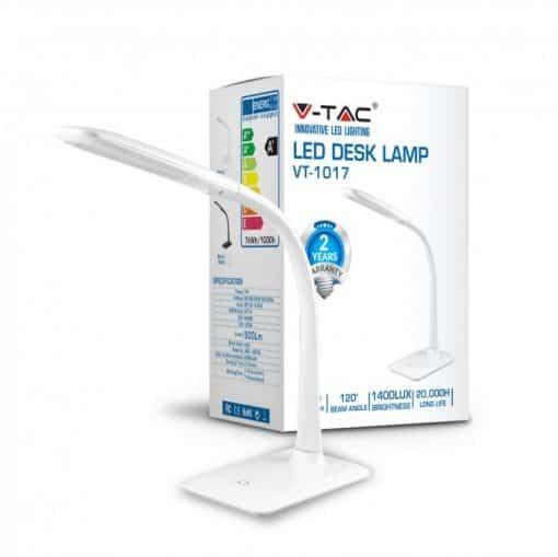 7W dimeriuojamas stalo LED šviestuvas V-TAC