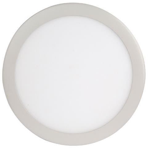 24W ilgai tarnaujanti apvali įleidžiama LED panelė HOROZ su maitinimo šaltiniu