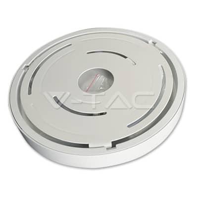 6W apvali LED paviršinė panelė V-TAC PREMIUM SMD LED