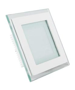 Kvadratinė įmontuojama stiklinė LED panelė V-TAC