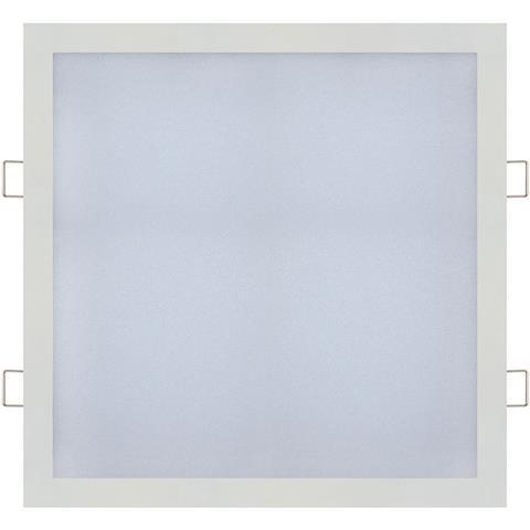 18W kvadratinė įleidžiama LED panelė HOROZ su maitinimo šaltiniu