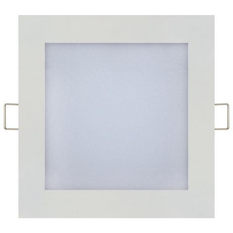 15W kvadratinė įmontuojama LED panelė HORO su maitinimo šaltiniu