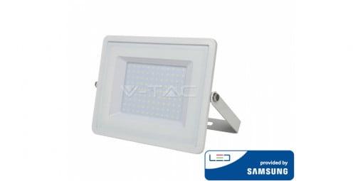 LED prožektorius 100W V-TAC su Samsung LED chip IP65 (juodas