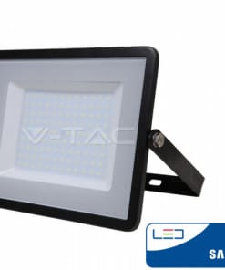 LED prožektorius 100W V-TAC su Samsung LED chip IP65 (juodas