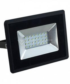20W LED prožektorius V-TAC E-serija (juodas arba baltas) IP65