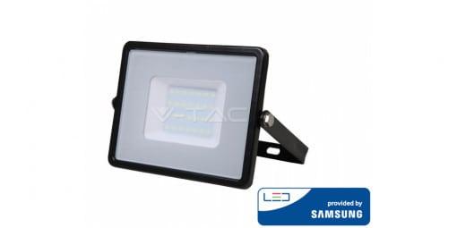 Atsparus vandeniui 30W LED prožektorius V-TAC su Samsung LED chip (juodas