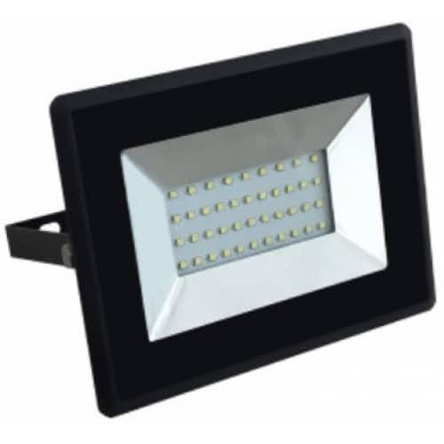 30W LED prožektorius V-TAC E-serija (juodas arba baltas)