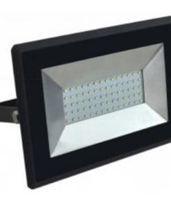 Atsparus drėgmei LED prožektorius V-TAC E-serija 50W (juodas arba baltas)