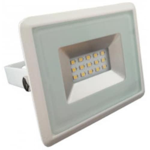 10W Atsparus drėgmei LED prožektorius V-TAC E-serija (juodas arba baltas)
