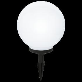 Burbulo formos įsmeigiams LED šviestuvas RGB SOLAR250