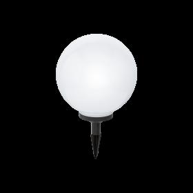 Burbulo formos įsmeigiams LED šviestuvas RGB SOLAR300