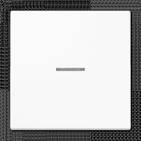 JUNG LS990 1 klavišo jungiklio dangtelis su apšvietimo stikliuku