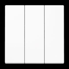 JUNG LS990 3 klavišų jungiklio dangtelis