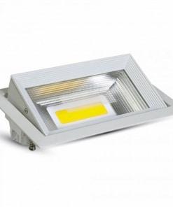 30W kvadratinis įleidžiamas LED šviestuvas