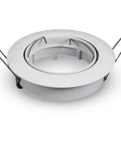 Apvalus įleidžiamas šviestuvas V-TAC (Balta