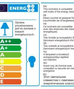 Kvadratinis Įleidžiamas šviestuvas su reguliuojama šviesos kryptimi