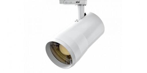 26W LED Šviestuvas ant bėgelio su šviesos kampo reguliavimo funkcija RIO