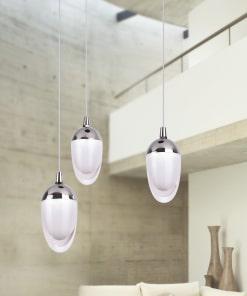 3 lempų pakabinamas šviestuvas LUXOR