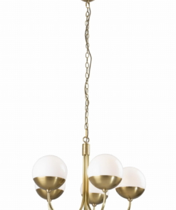 Pakabinamas šviestuvas su rutulio formos gaubtais DALLAS